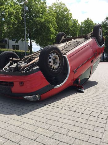 Check This Out Nopeople Feuerwehr ShitHappens Perspectives Perspective Accident Car Auto Unfall Rescue