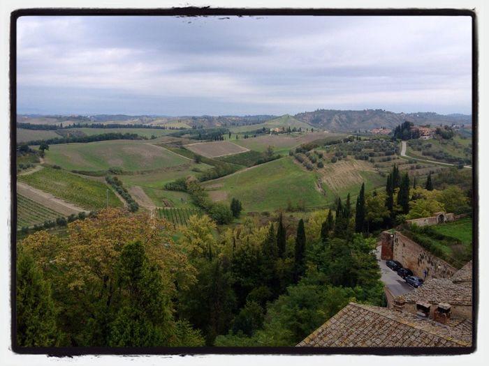 Campagna Di Certaldo Walking Around Tuscany Rural Scenes