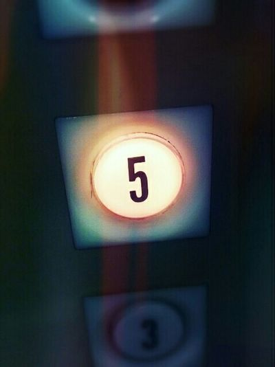 Five Numbers Elevator 60's 60s Architecture No People Communication Number Differing Abilities Indoors  Close-up Day Office Building Nostalgia Surreal Push Button Low Light 1960's Architecture Letterform Button