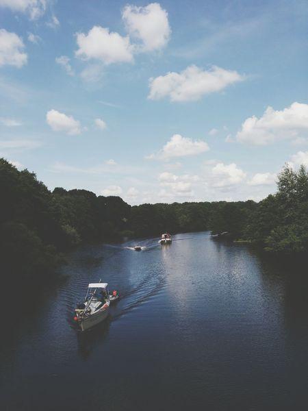 Fluss EMS Emsland Sumer2014