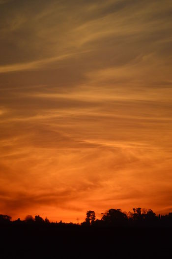 Beauty In Nature Check This Out Cloud Cloud - Sky Clouds And Sky Day Dramatic Sky Dusk Landscape Mars Nature No People Orange Orange Color Outdoors Peace Scenics Silhouette Sky Sky And Clouds Sunset Swirl Tranquil Scene Tranquility Tree Art Is Everywhere The Great Outdoors - 2017 EyeEm Awards