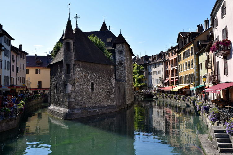 Annecy Annecy, France Building Building Exterior Day France Outdoors Reflection Town Travel Destinations Water