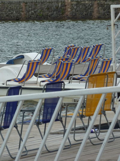 Beach Carte Postale Close-up Nautical Vessel Outdoors Pedal Seat Water
