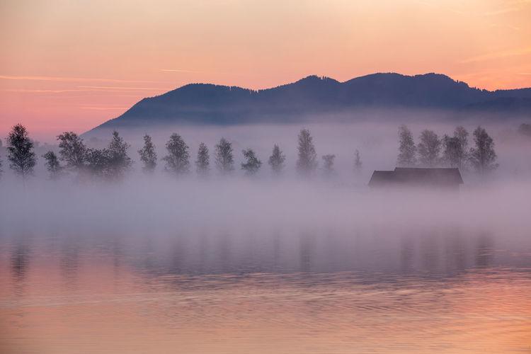Fisher huts at