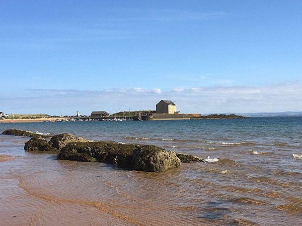ELIE Fife  Scotland Beach Sun Summer