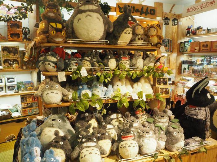 Totoro So Many Many Toyshop Japan Tokyo Tokyo,Japan Ultimate Japan Soft Toy Cute Cartoon Hayao Miyazaki so many Totoroes, can I bring all of you back?