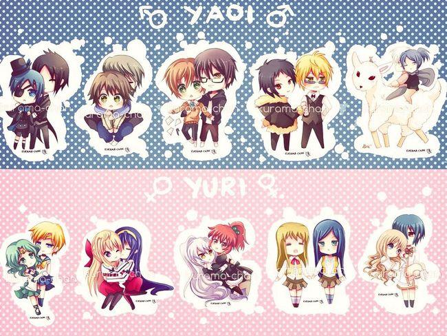 Anime Yaoi Yuri KAWAII