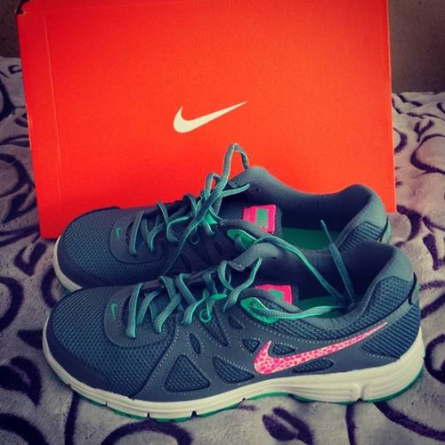 My New Shoes. Nike Nikeshoes Shoedeptencore Shoedept Xprofilter Shopping TimeToWorkout Nikerevolution2