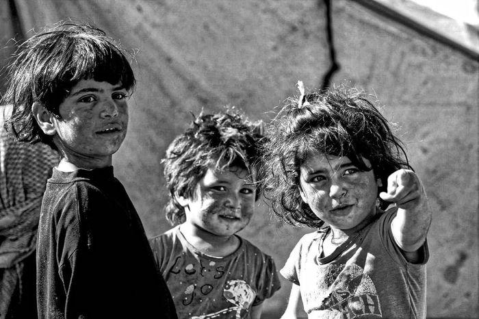 Children , Suriye Children Friends Smile Syria  People Azez War War Photography War Photos War Photographer Mycamera Ortadogu Middle East