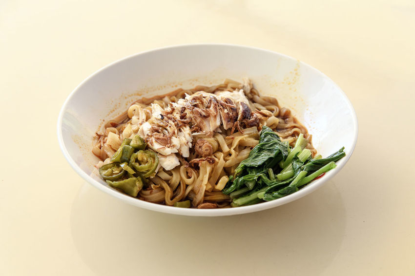 Shredded Chicken Hor Fun Bowl Chinese Food Close-up Day Food Food And Drink Freshness Hawker Food Healthy Eating Hor Fun Indoors  No People Noodles Noodles Ready-to-eat Shredded Chicken