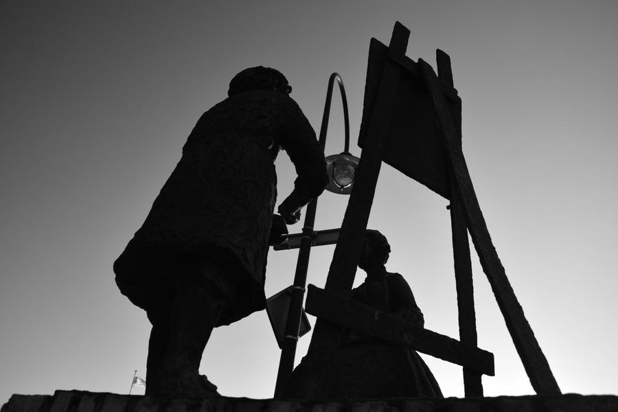 painter Rembrandt van RijnArtWork Welcome To Black Low Angle View Outdoors Sky Day Light And Shadow Black And White Black & White Getting Inspired EyeEm Gallery Eye4photography  From My Point Of View Exceptional Photographs No People Sint Annaparochie Het Bildt Netherlands Silhouette The Street Photographer - 2018 EyeEm Awards