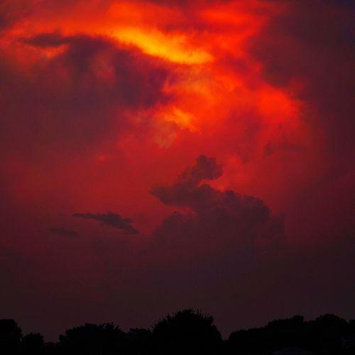 Apocalypse. Mattapoisett Harbor. July 22, 2016 Mattapoisett Massachusetts New England  Sunset Clouds Clouds And Sky Cloudscape Cloudporn Storm Thunderstorm