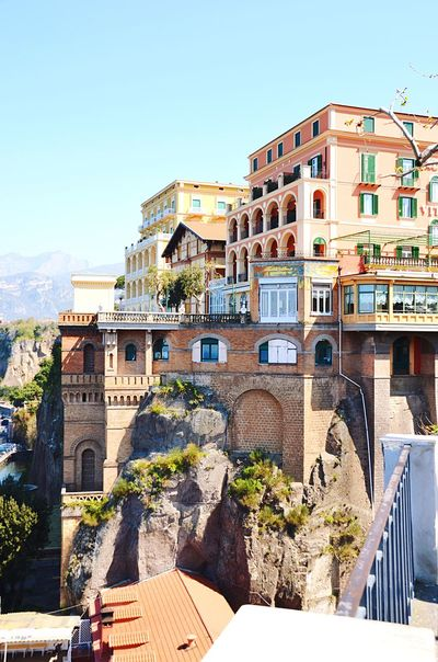 Architecture Building Exterior Built Structure Day Clear Sky Outdoors No People Sky Tree Nature EyeEmNewHere Let's Go. Together. Walking Vacations Sorrentocoast Sorrento, Italia Sorrento Architecture Building Building And Sky Buildings Architecture Buildingstyles Breathing Space Investing In Quality Of Life Your Ticket To Europe An Eye For Travel
