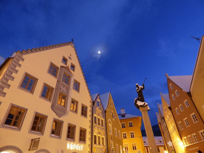 Architecture Building Built Structure City Füssen Germany Learn & Shoot : After Dark Perspective