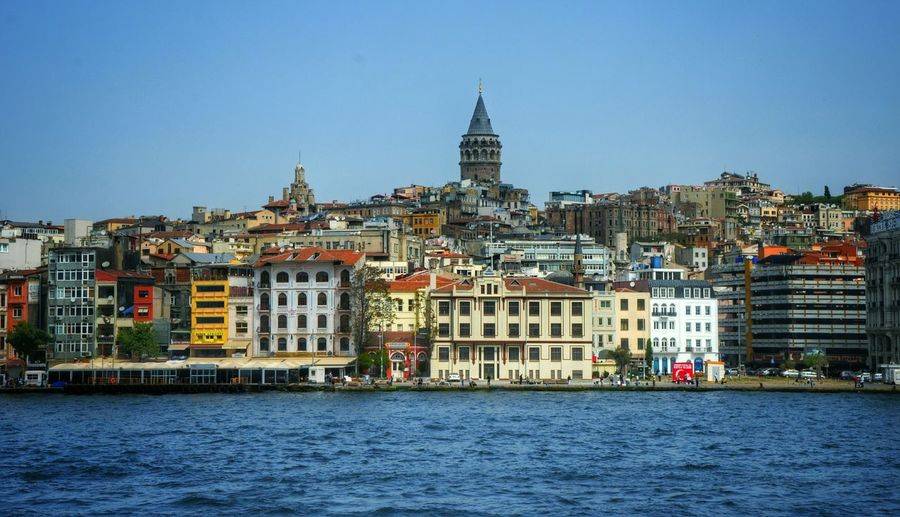 Seeing The Sights From Where I Stand - Galatatower Istanbul