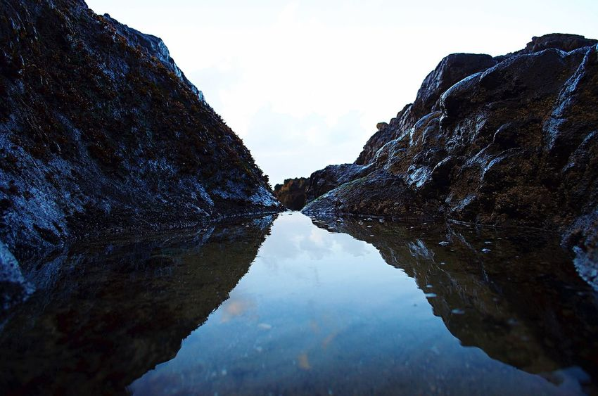 Reflection Nature Sky Tranquility Water No People Day Tranquil Scene Outdoors Mountain Scenics Beauty In Nature