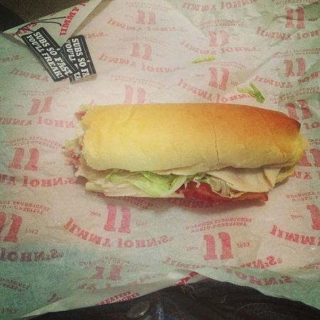 turkeybacon Jimmyjohns