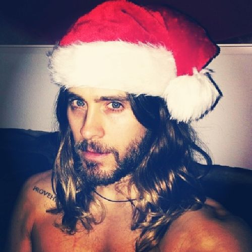 Is it too bad if I say that I want him for Christmas? Sexysanta Xmas JL