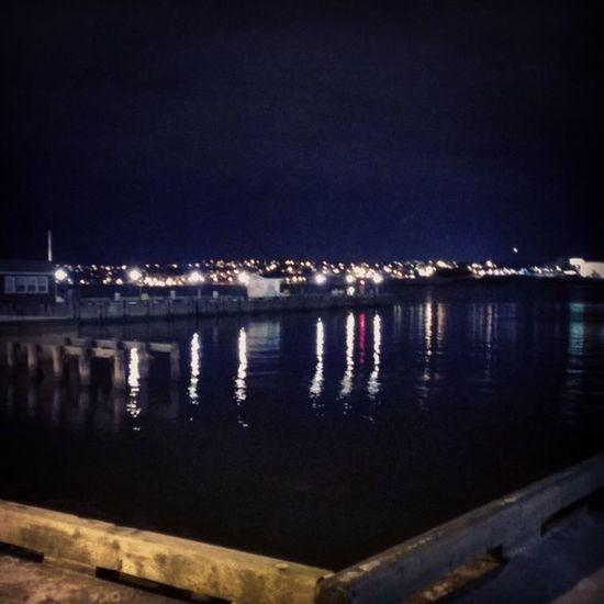 Halifax Harbourp tonight.. Halifax Pretty Bored