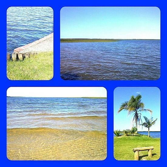 Praia da Lagoa... Plaĝo de la Laketo en Cidreira/RS Brasil Lakoj Lagoas Praias Nature