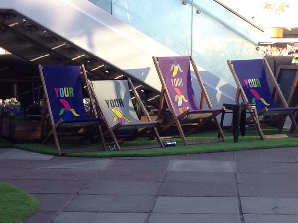 Taking Photos Southbank Deck Chairs