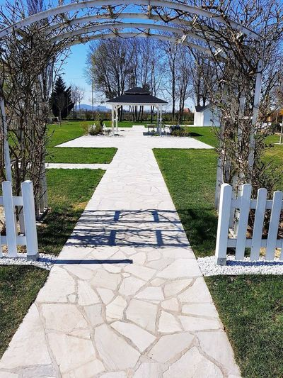 Wedding Wedding Place Beautiful Day Outdoors Sunlight Shadow Nothing In Surrounding Pathway To Heaven Leisure Activity