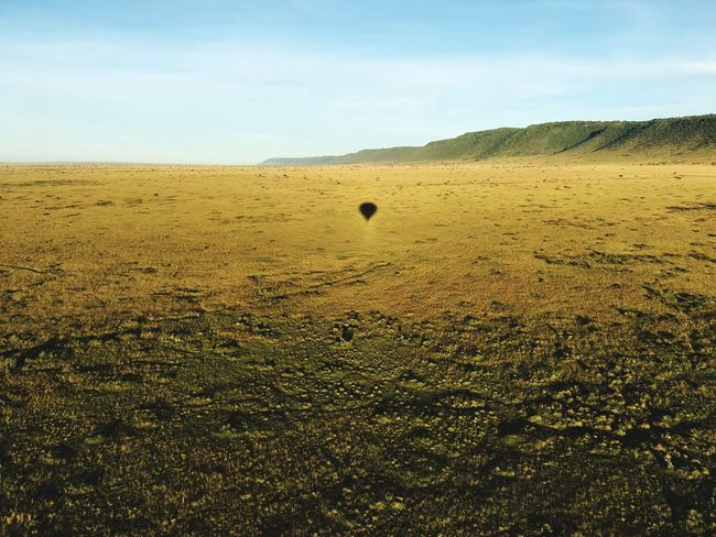 Live For The Story Horizon Over Land Landscape Nature Tranquil Scene Outdoors No People Savana Wildlife & Nature Ballon Trip