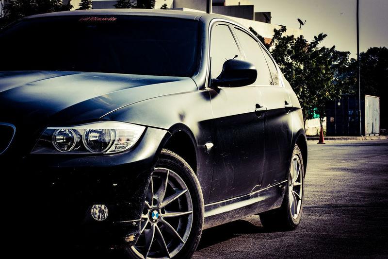 BMW. Sheer pleasure. Bmw 320d Matteblack Exotic Cars Cars Luxury Transportation Mode Of Transport