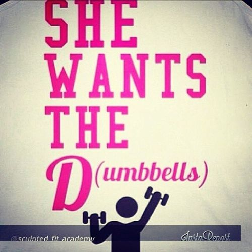 Lmfao I just love it! Fitness Dat_D (umbells) aha I_want_the D(umbells)! ;) aha You_know_you_want_that_kind_of_D ! (;