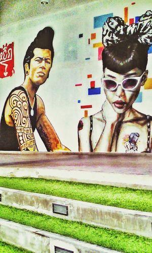 Bangkok Thailand graffiti