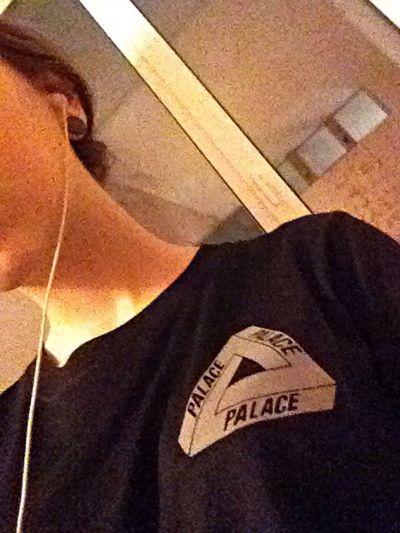Шарю Palace футболка модница Day еее