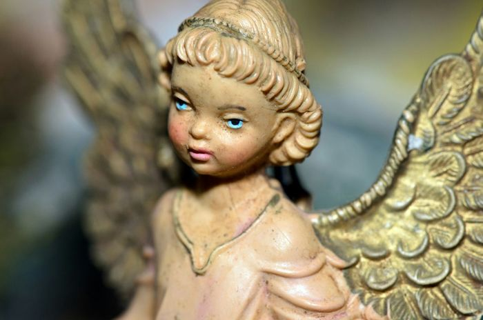 Christmas Time Macro Photography Angel Statue Presepe Italy Traditions Italia Cattolicesimo Statuine