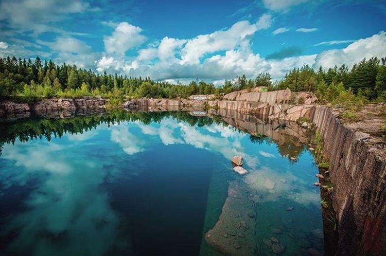 Reflections🌲 Visitfinland Louhos @ourfinland Kirkkonummi Exploring Woods Nikontop Reflections CreateExplore Summer Nature Abandoned Inthewoods Ig_finland Hila Relaxing