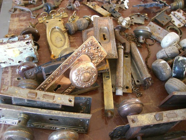Architectural Feature Architecture Door Knob Door Lock Doors Large Group Of Objects No People Old-fashioned Ornate Design Ornate Door Workshop