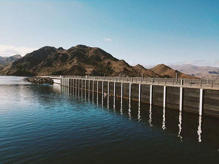 Travel Benmoredam Lakebenmore Withbrother Dam VSCO Vscocam NZ Newzealand Likes