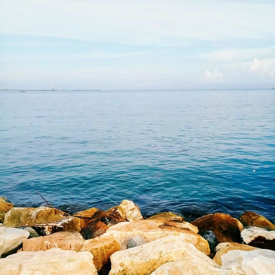 Nature Tranquil Scene Beach Water Sea No People Sky Cloud - Sky Day Outdoors Tranquility Horizon Over Water Scenics Meizu Meizu Mx6 Nature Beauty In Nature Venezuela Summer