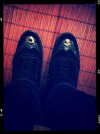 No os habia enseñado mis zapatitos nuevos... me chiflan! :D