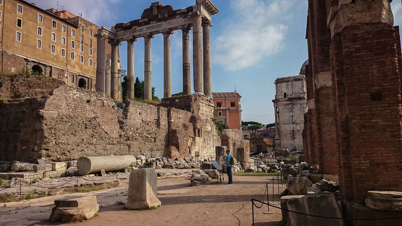 Acient Rome Cesar Forum Romanum History History Architecture Old Ruin Rome, Italy The Past