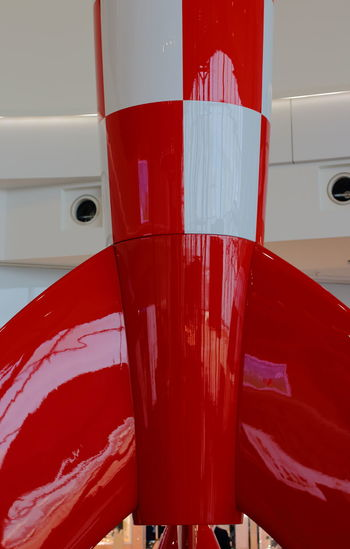 Close-up Let's Go. Together. Nautical Vessel No People Outdoors Red Red On The Moe Rocket Transportation