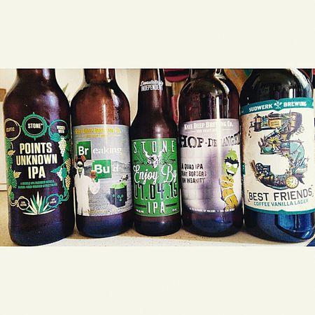 Last weekend's Craft Beer haul. Beer Craftbeer Craft Beer Craftbeers Beerporn Beersnob I ❤ Beer Beers Beergeek