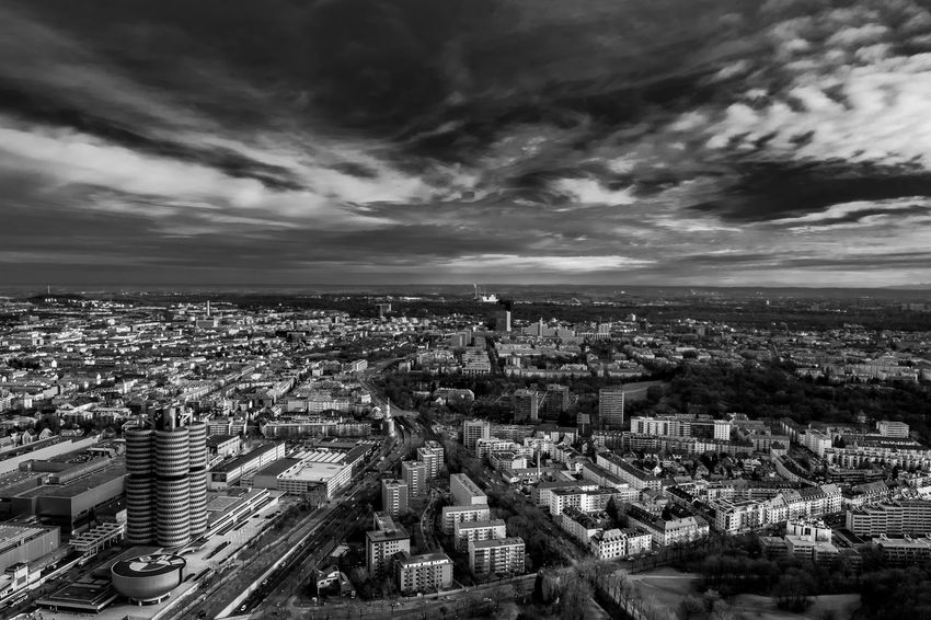 Aerial View Architecture Blackandwhite City City Life Cityscape Cityscape Cityscapes Cloud - Sky Clouds Modern Modern No People Outdoors Photo Photography Sky Sky And Clouds Skyporn Skyscraper Urban Urban Skyline