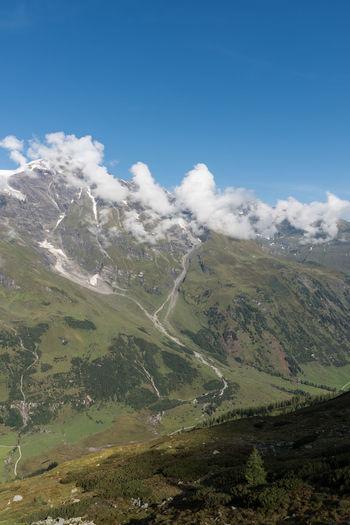 Berge Himmel Nature Salzburger Land Spätsommer  Wolken Gebirge Grossglocknerstraße Keine Menschen Tag Österreich
