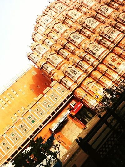 82. Building Exterior Built Structure Day Outdoors Low Angle View No People Sky City Jaipur Rajasthan Pinkcity Jaipur Pinkcity Hawamahal Hawamahaljaipur Early Morning Heritage Heritage Building Roads Royal Live For The Story BYOPaper! The Street Photographer - 2017 EyeEm Awards The Great Outdoors - 2017 EyeEm Awards The Architect - 2017 EyeEm Awards The Photojournalist - 2017 EyeEm Awards The Portraitist - 2017 EyeEm Awards EyeEmNewHere Out Of The Box