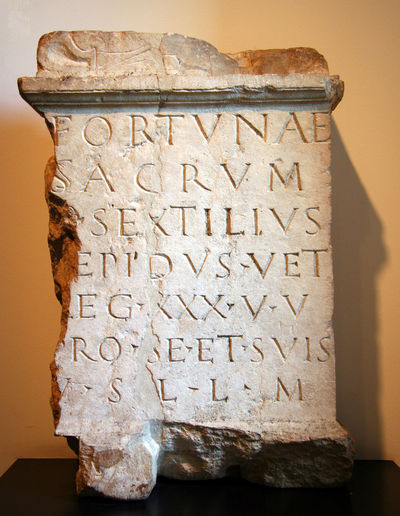 Roman Milestone - shows the distance to the next roman town, cologne Ancient Ancient Civilization Ancient Rome Archaeology Capital Excavation Headstone History Latin Letters Luck Memento Memory Milestone Old Remember Roman Script Scripture Sepulcher Stone Stone Material Text Tomb Tombstone