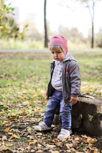 children Warm Clothing Child Full Length Childhood Males  Standing Portrait Cute Tree Knit Hat Baby Clothing 0-11 Months Baby Baby Boys 12-23 Months 12-17 Months Newborn Denim Jacket One Baby Girl Only One Baby Boy Only Babies Only Flat Cap Babyhood Hooded Shirt Pacifier Hood - Clothing Rubber Boot 6-11 Months