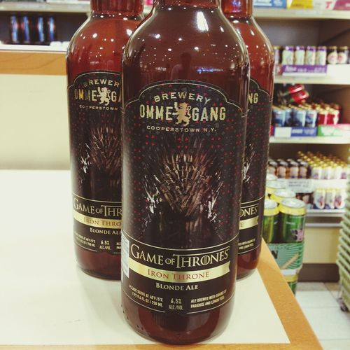 Game Of Thrones branded Beer ? This is a thing?