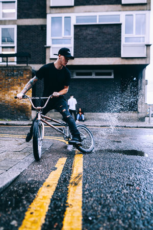 Thrashing puddles Check This Out City City Life Cityscape Colors Exploring EyeEm EyeEm Best Shots Lines Road Taking Photos Winter Bmx  Explore Motion People Puddle Splashing Sport Street Streetphotography Travel Destinations Urban Water The Week On EyeEm Editor's Picks