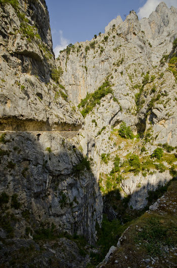 Arid Climate Canyon Cliff Day Eroded Exploring Geology Geometry Mountain Physical Geography Rock Rock - Object Rock Formation Rocky Rocky Mountains Rough Rugged Stone Picos De Europa Rutadelcares