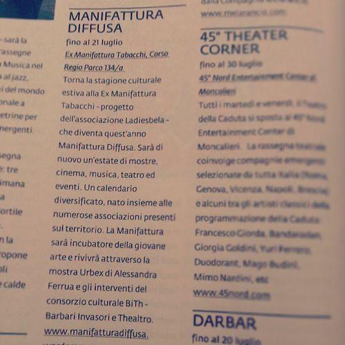 Manifatturadiffusa Teatro Torino
