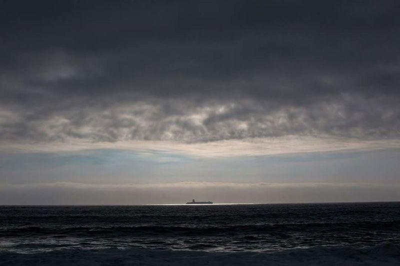 Seascape Idyllic Ocean Calm Nature Chile Boat EyeEm Blue Hour Overnight Success Eyem Best Shots